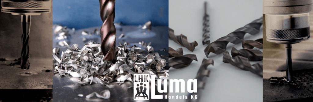 LUMA Fachbegriffe Lexikon HSS- und HSS-Co Metallbohrer TB4X, Cutinox und Furius www.technik-depot.at