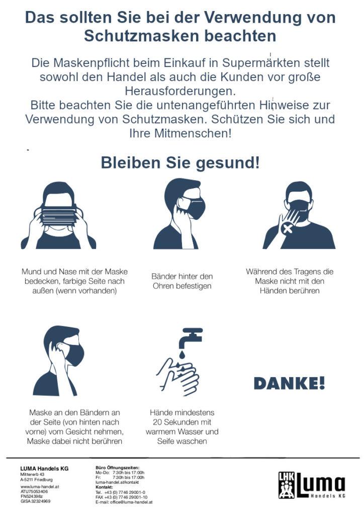 Das sollten Sie bei der Verwendung von Schutzmasken beachten! Schutzmasken günstig kaufen - Mund-Nasen-Schutz sofort lieferbar!