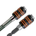 Der neue Schnellwechselhalter von Diager USH Bithalter FOX ist in verschiedenen Ausführungen verfügbar - hält fest und zuverlässig.