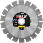 Samedia Diamanttrennscheibe AX13 SHOXX für Trockenschnitt - die beste Diamanttrennscheibe für Asphalt!