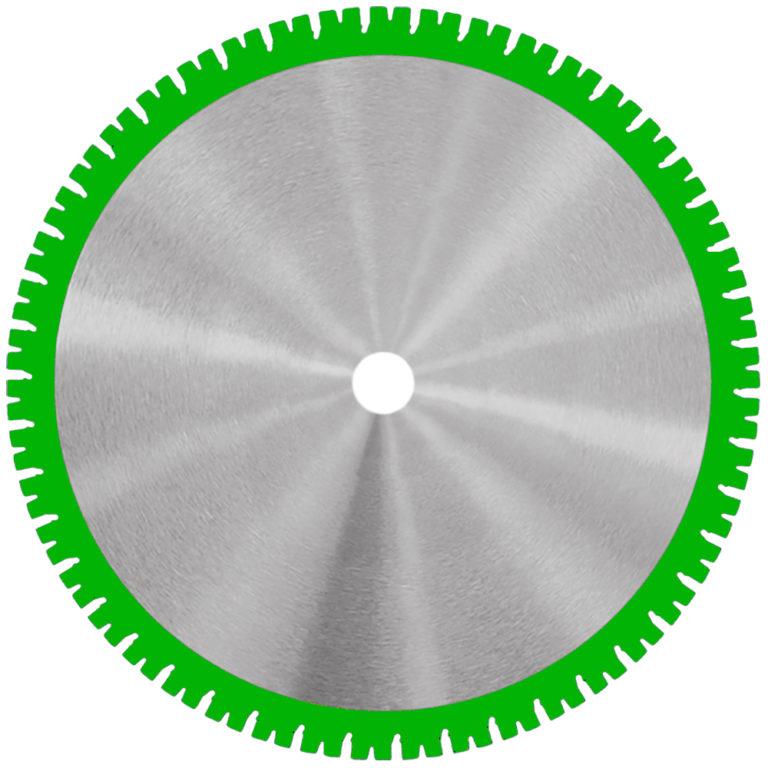 Samedia HighEnd-Wandsägeblatt SHOXX WFX mit 20mm SHOXX-Schmiedsegmenten.