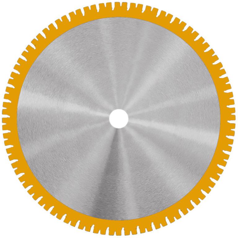 Samedia HighEnd-Wandsägeblatt SHOXX WLX mit 20mm SHOXX-Schmiedsegmenten.