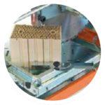 SAMEDIA FB650 Ziegelsäge - Winkelanschlag 0 - 180° für präzise Schnitte