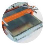SAMEDIA FB700 Ziegelsäge - Ausziehbare Wanne für leichte Reinigung