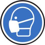 Persönliche Schutzausrüstung - Schutzmaske tragen