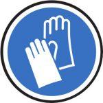 Persönliche Schutzausrüstung - Schutzhandschuhe tragen